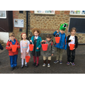 Collecting money on World Book Day