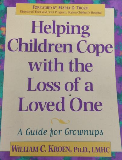 A guide for adults on how to help children cope with the loss of a loved one.