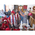 Year 2 visit to the synagogue