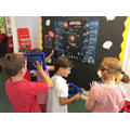 Using our interactive space poster