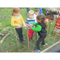 We used Unity to build our Forest School fence