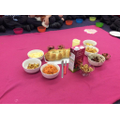 Shabbat picnic in the classroom