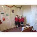 Decorating rooms at Pilgrim Wood