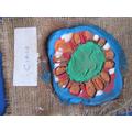 Aztec-style pottery
