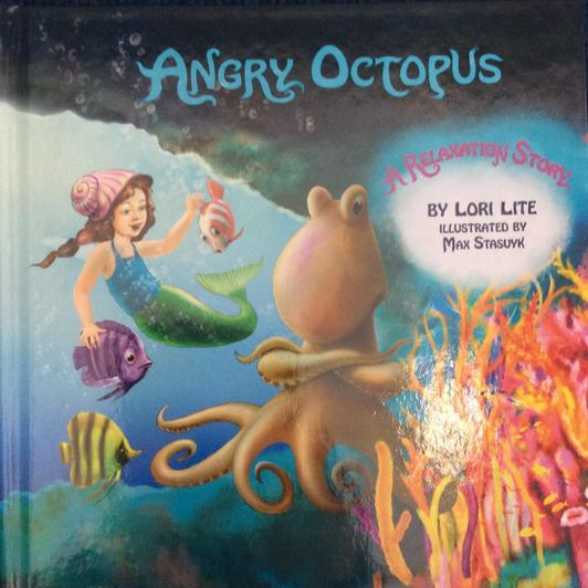 Children can relate to the angry octopus as this story looks at anger and deep breathing