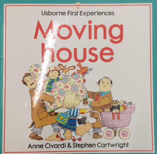 When children move house often this can be a big change. This book looks at the process.