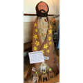 Joseph, our nativity figure at Guildford Catheral