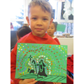 Advent Pause Day Aboriginal style artwork