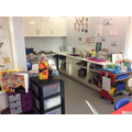 The Art and Science area in Oak Class