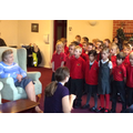 Using courage to sing at Mount Place