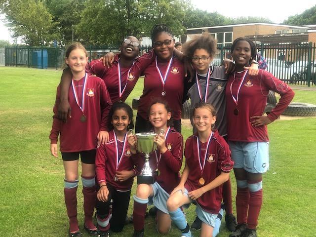Girl's Football Champions