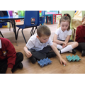 Recognising numbers on dice