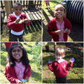 Nursery enjoying their egg hunt