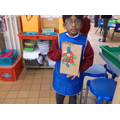 Using the tap-a-shape to make pictures