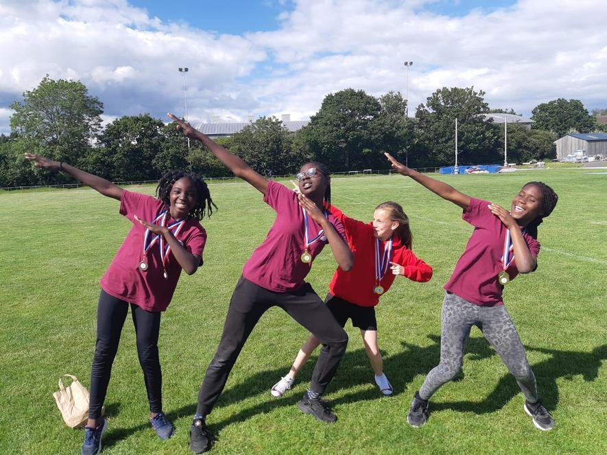 Athletics medal winners