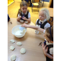Mixing our Dough for Fossils