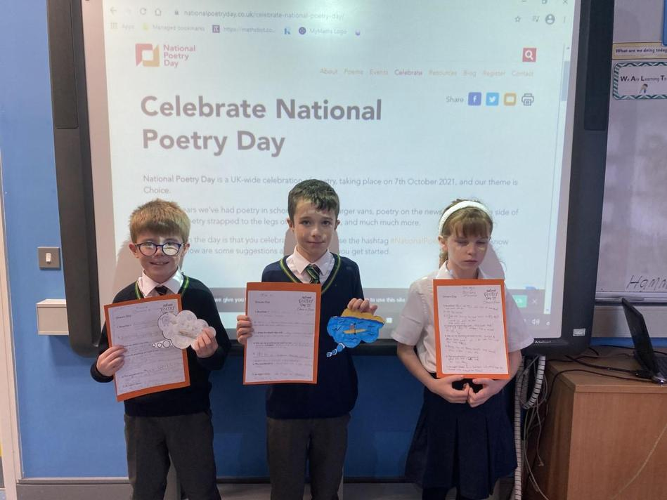 Some P5 Poet Laureates in the making!!