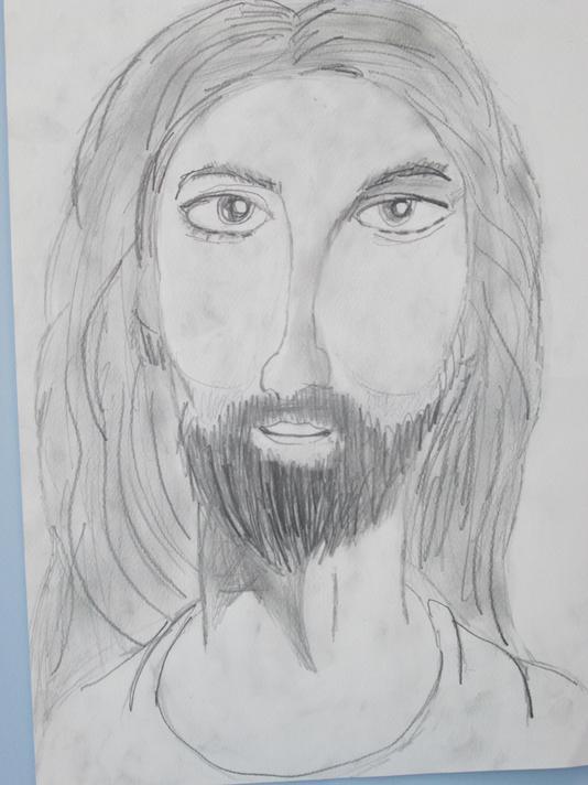 Jesus of Nazareth (pencil drawing)