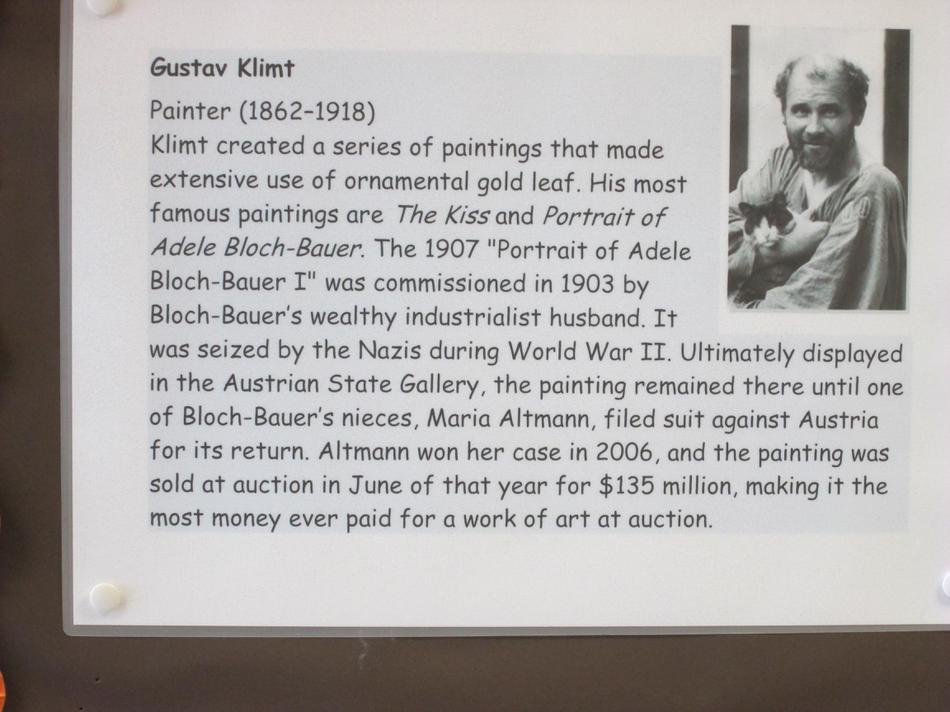 About Gustav Klimt
