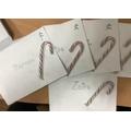 Santa delivered letters to us