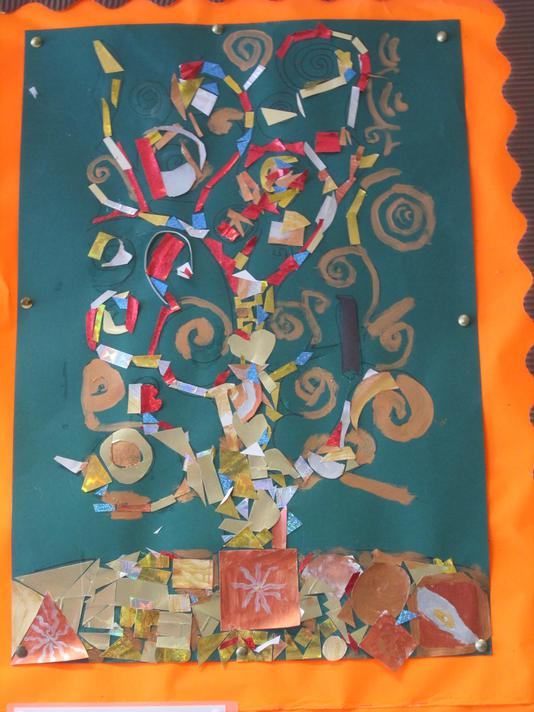 The Tree of Life by P7 Art Club