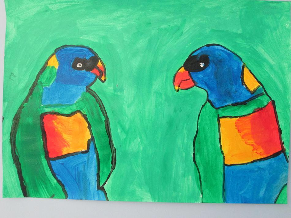 Lorrikeet Birds