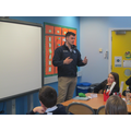 Mr Donnelly - A civil Engineer and Past Pupil