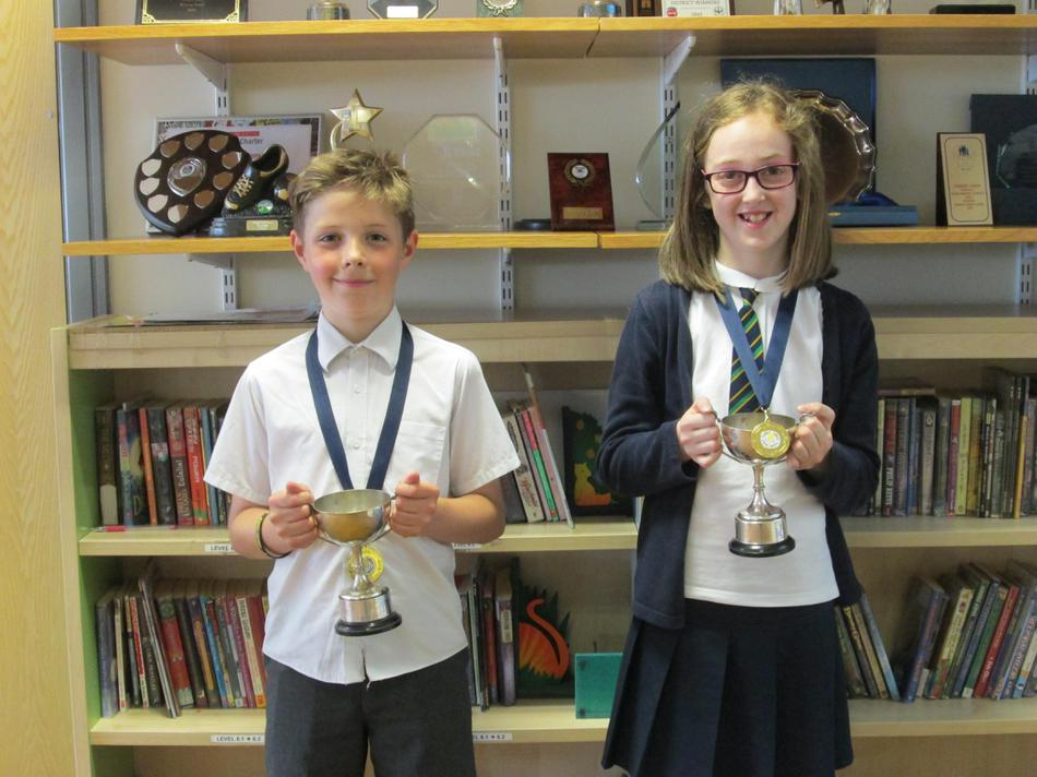 The Year 5 Champions both came from 5CA!