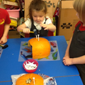 Developing our fine motor skills.