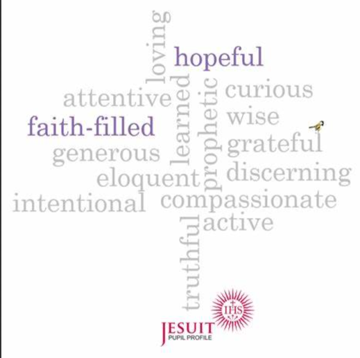 Pupils in a Jesuit school are growing to be faith-filled in their beliefs and hopeful for