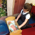We learnt how to care for babies.