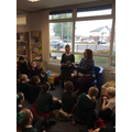 Class 3s visit to the library.