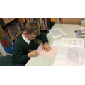'Hot' writing - showing off our English skills.