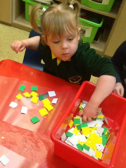 Lots of materials to chose from.