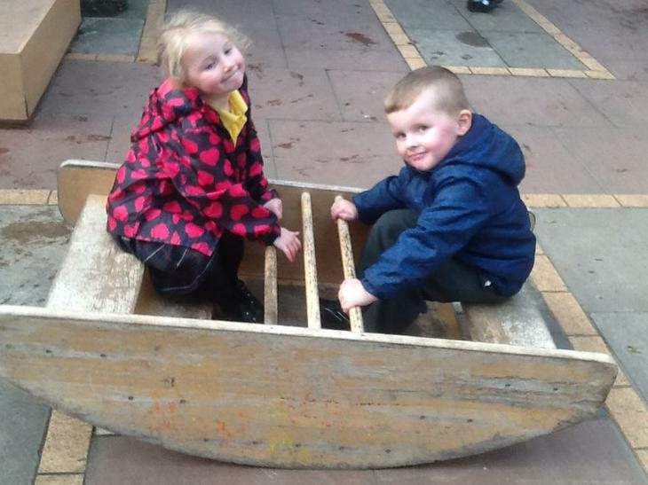 Working together to rock the boat.