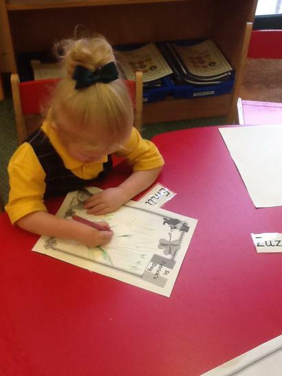 Fanastic pencil control Emily!