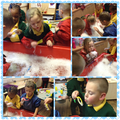 On Thursday we had fun exploring bubbles!