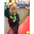 """""""I've made a pattern. Blue, yellow, green!"""""""
