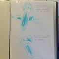 Lewie's drawings.