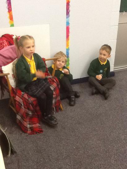We told stories and sang Nursery Rhymes.