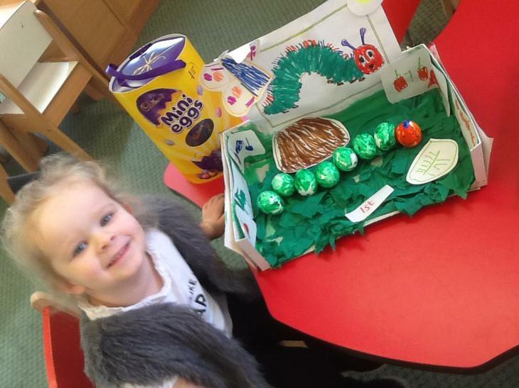 Emilee won 1st prize!