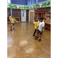 Building on dribbling and tackling skills