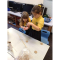 Year 1 create their own playground equipment!