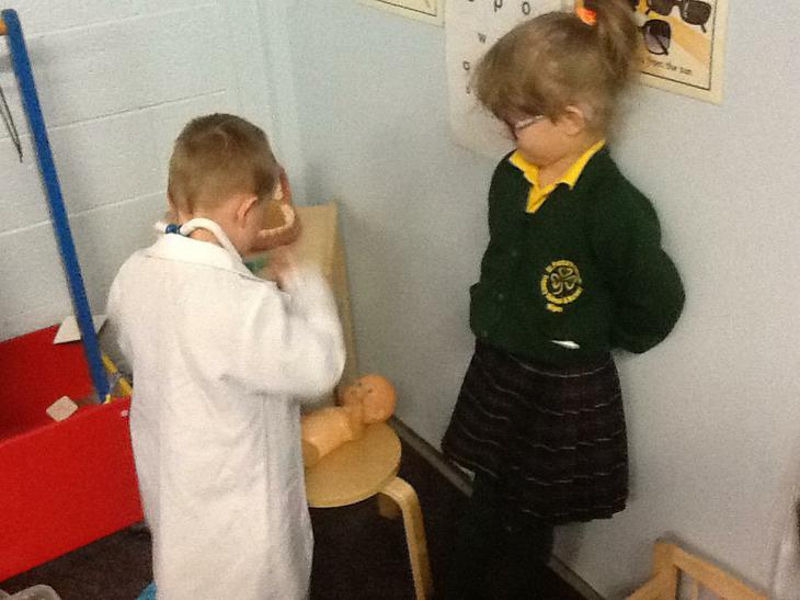We explored the Health Centre.