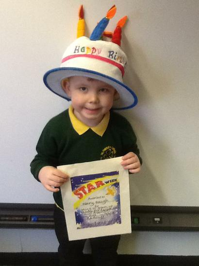 Star of the Week on your birthday! Wow! ⭐️