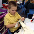 Year 1 find half of a shape!