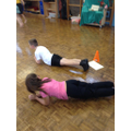 A range of exercises done in a bootcamp circuit