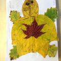 Maya's leaf art.