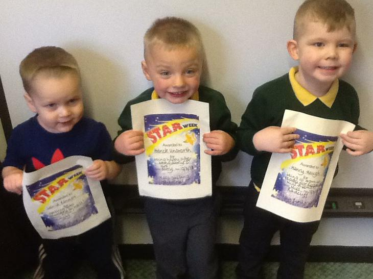 Three Superstar Boys! Fantastic! Well Done!