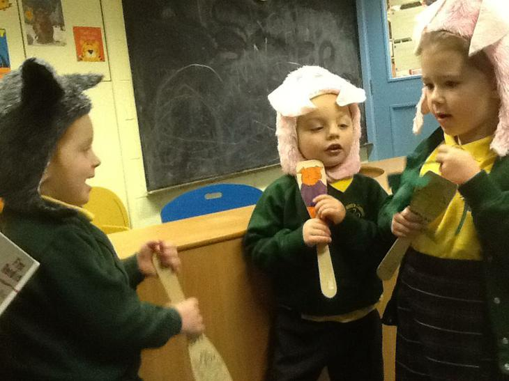 Role Play - The Three Little Pigs.